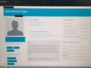 user personal template screenshot