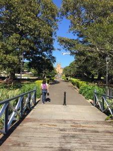 Sydney Uni from Victoria Park