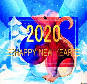 2020 Year of the Rat Banner